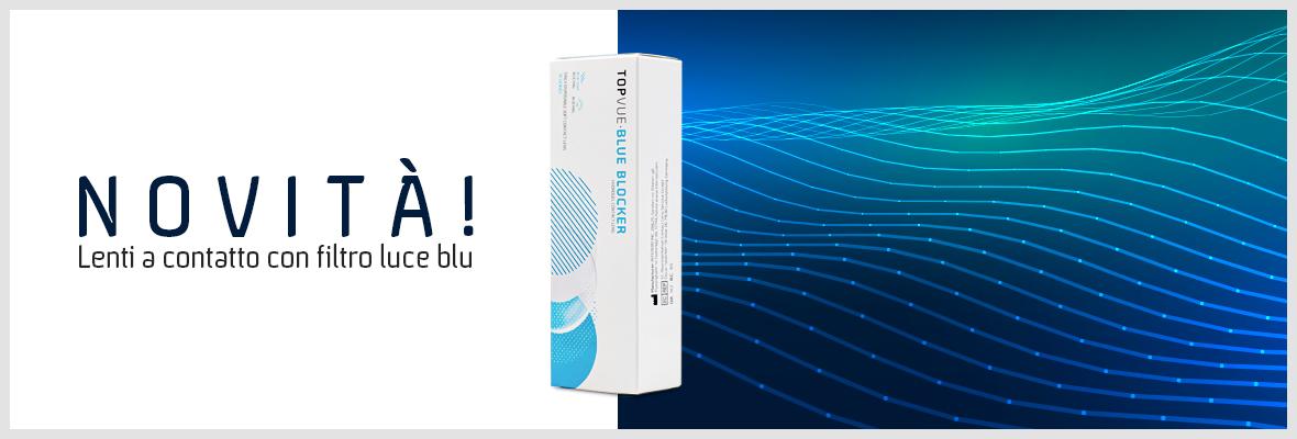 lenti a contatto anti luce blu