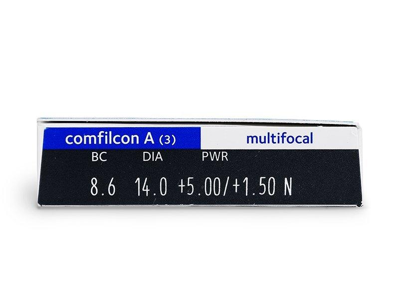 Biofinity Multifocal (3lenti) - Caratteristiche generali