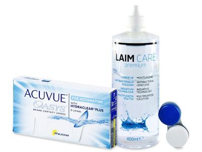 Acuvue Oasys for Astigmatism (6 lenti) + soluzione Laim-Care 400 ml