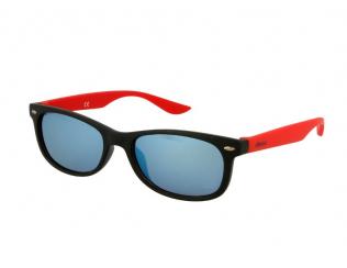 Occhiali da sole Classic Way - Occhiali da sole bambini Alensa Sport Black Red Mirror