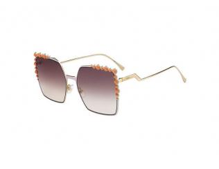 Occhiali da sole Oversize - Fendi FF 0259/S 35J/NQ