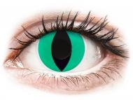 Lenti a contatto verdi - non correttive - ColourVUE Crazy Lens - Anaconda - non correttive (2 lenti)
