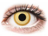 Lenti a contatto gialle - non correttive - ColourVUE Crazy Lens - Avatar - non correttive (2 lenti)