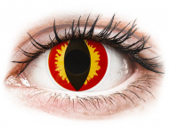 Maxvue Vision - ColourVUE Crazy Lens - Dragon Eyes - non correttive (2 lenti)