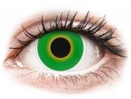 Lenti a contatto verdi - non correttive - ColourVUE Crazy Lens - Hulk Green - non correttive (2 lenti)