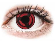 Lenti a contatto rosse - non correttive - ColourVUE Crazy Lens - Kakashi - non correttive (2 lenti)
