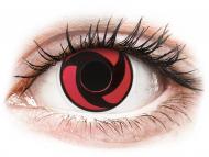 Lenti a contatto rosse - non correttive - ColourVUE Crazy Lens - Mangekyu - non correttive (2 lenti)