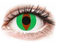 Lenti a contatto verdi - non correttive - ColourVUE Crazy Lens - Raptor - non correttive (2 lenti)
