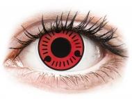 Lenti a contatto rosse - non correttive - ColourVUE Crazy Lens - Sasuke - non correttive (2 lenti)