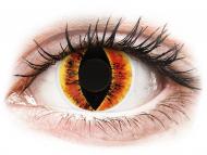 Lenti a contatto gialle - non correttive - ColourVUE Crazy Lens - Saurons Eye - non correttive (2 lenti)