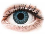 Lenti a contatto colorate speciali - non correttive - ColourVUE Crazy Lens - Solar Blue - non correttive (2 lenti)