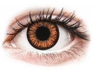 Lenti a contatto arancioni - non correttive - ColourVUE Crazy Lens - Twilight - non correttive (2 lenti)