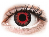 Lenti a contatto rosse - non correttive - ColourVUE Crazy Lens - Volturi - non correttive (2 lenti)