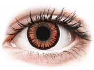 Lenti a contatto rosse - non correttive - ColourVUE Crazy Lens - Vampire - non correttive (2 lenti)