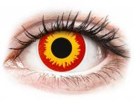 Lenti a contatto gialle - non correttive - ColourVUE Crazy Lens - Wildfire - non correttive (2 lenti)