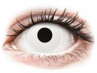 Lenti a contatto bianche - non correttive - ColourVUE Crazy Lens - WhiteOut - non correttive (2lenti)