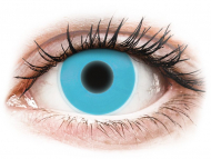 Lenti a contatto colorate speciali - non correttive - ColourVUE Crazy Glow Blue - non correttive (2lenti)