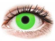 Lenti a contatto verdi - non correttive - ColourVUE Crazy Glow Green - non correttive (2lenti)