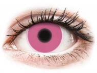 Lenti a contatto colorate speciali - non correttive - ColourVUE Crazy Glow Pink - non correttive (2lenti)