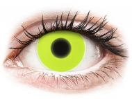 Lenti a contatto colorate speciali - non correttive - ColourVUE Crazy Glow Yellow - non correttive (2lenti)