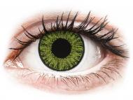 Lenti a contatto verdi - non correttive - TopVue Color daily - Fresh Green - non correttive (10lenti)