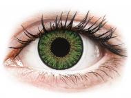 Lenti a contatto verdi - non correttive - TopVue Color daily - Green - non correttive (10lenti)