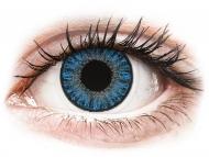 Lenti a contatto blu - correttive - TopVue Color daily - Sapphire Blue - correttive (10lenti)