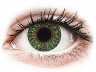 Lenti a contatto verdi - correttive - TopVue Color - Green - correttive (2lenti)