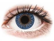 Lenti a contatto blu - correttive - TopVue Color - True Sapphire - correttive (2lenti)