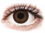 Lenti a contatto nocciola - non correttive - TopVue Color - Brown - non correttive (2 lenti)