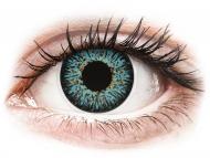 Lenti a contatto blu - non correttive - ColourVUE Glamour Aqua - non correttive (2lenti)
