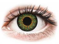 Lenti a contatto verdi - non correttive - ColourVUE Glamour Green - non correttive (2lenti)