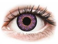 Lenti a contatto viola - non correttive - ColourVUE Glamour Violet - non correttive (2lenti)