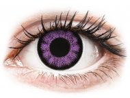 Lenti a contatto viola - non correttive - ColourVUE BigEyes Ultra Violet - non correttive (2lenti)