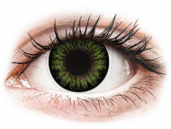 Maxvue Vision - ColourVUE BigEyes Party Green - non correttive (2 lenti)