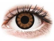 Lenti a contatto nocciola - non correttive - ColourVUE BigEyes Sexy Brown - non correttive (2lenti)