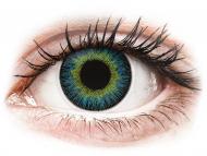 Lenti a contatto gialle - non correttive - ColourVUE Fusion Yellow Blue - non correttive (2lenti)