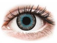 Lenti a contatto blu - non correttive - ColourVUE Fusion Blue Gray - non correttive (2lenti)