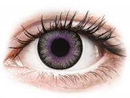 Lenti a contatto grigie - non correttive - ColourVUE Fusion Violet Gray - non correttive (2lenti)