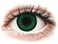 Lenti a contatto verdi - correttive - SofLens Natural Colors Aquamarine - correttive (2 lenti)