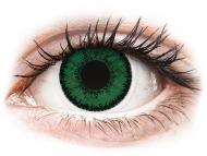 Lenti a contatto verdi - correttive - SofLens Natural Colors Emerald - correttive (2 lenti)