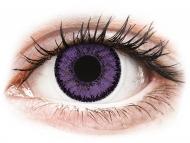 Lenti a contatto viola - non correttive - SofLens Natural Colors Indigo - non correttive (2 lenti)