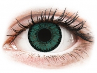 Lenti a contatto verdi - correttive - SofLens Natural Colors Jade - correttive (2 lenti)