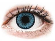 Lenti a contatto blu - non correttive - SofLens Natural Colors Pacific - non correttive (2 lenti)