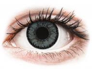 Lenti a contatto grigie - non correttive - SofLens Natural Colors Platinum - non correttive (2 lenti)