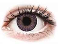 Lenti a contatto viola - non correttive - FreshLook ColorBlends Amethyst - non correttive (2 lenti)