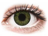 Lenti a contatto verdi - non correttive - FreshLook ColorBlends Green - non correttive (2 lenti)