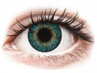 Lenti a contatto blu - correttive - FreshLook ColorBlends Turquoise - correttive (2 lenti)