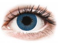Lenti a contatto blu - correttive - FreshLook Dimensions Pacific Blue - correttive (6 lenti)