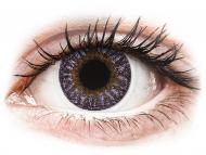 Lenti a contatto viola - non correttive - TopVue Color - Violet - non correttive (2 lenti)